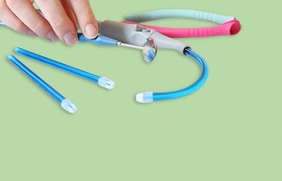 Aspiradores de saliva desechables