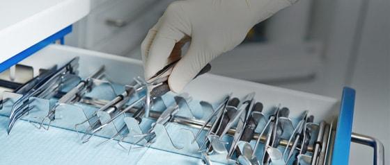 Zahnarzt-Instrumente