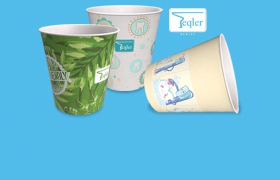 Gobelet papier jetable Teqler