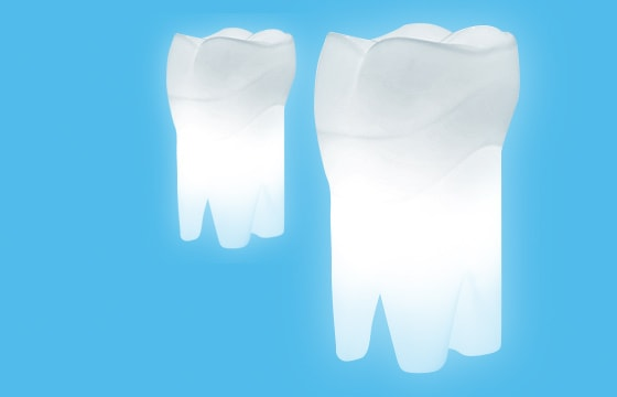 Designer Tooth Lamp for the Dentist Office
