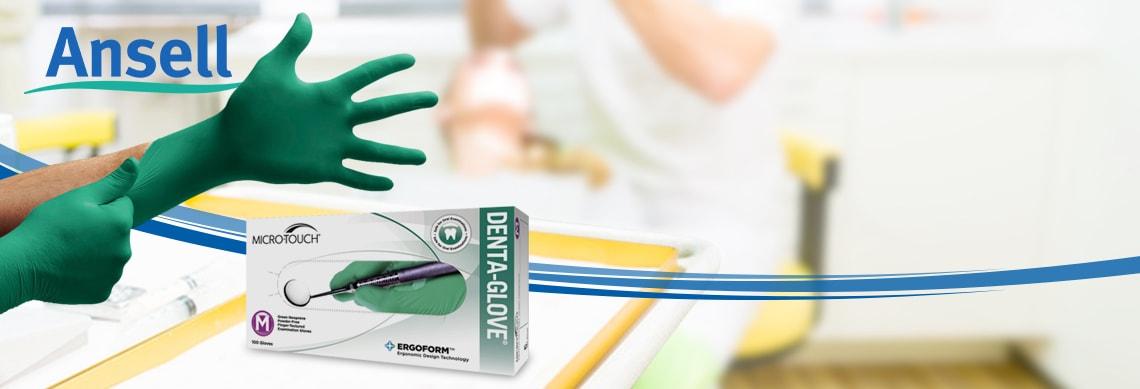 MICRO-TOUCH® DENTA-GLOVE® Green Neoprene