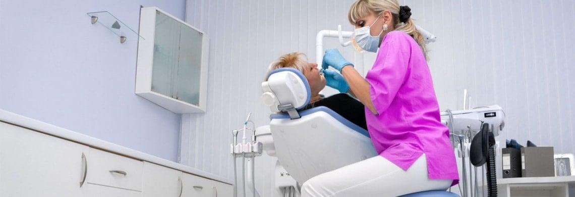 Farbenfroher Dentalbedarf