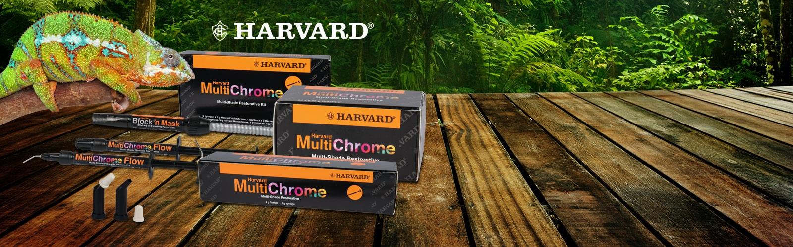 Das Harvard MultiChrome Sortiment