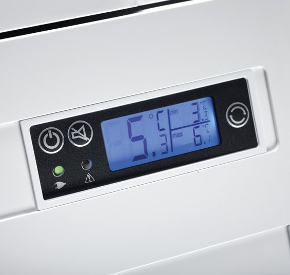 Digitalanzeige Dometic DIN Medikamentenkühlschrank