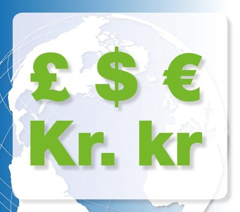 Praxisdienst Accepted Currencies