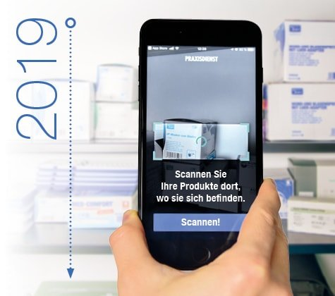 Praxisdienst Bestell-App
