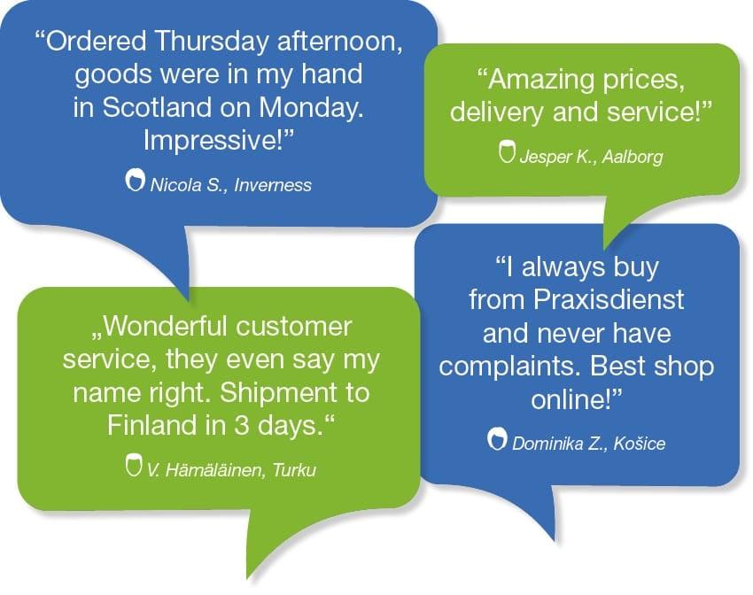 Praxisdienst Customer Reviews