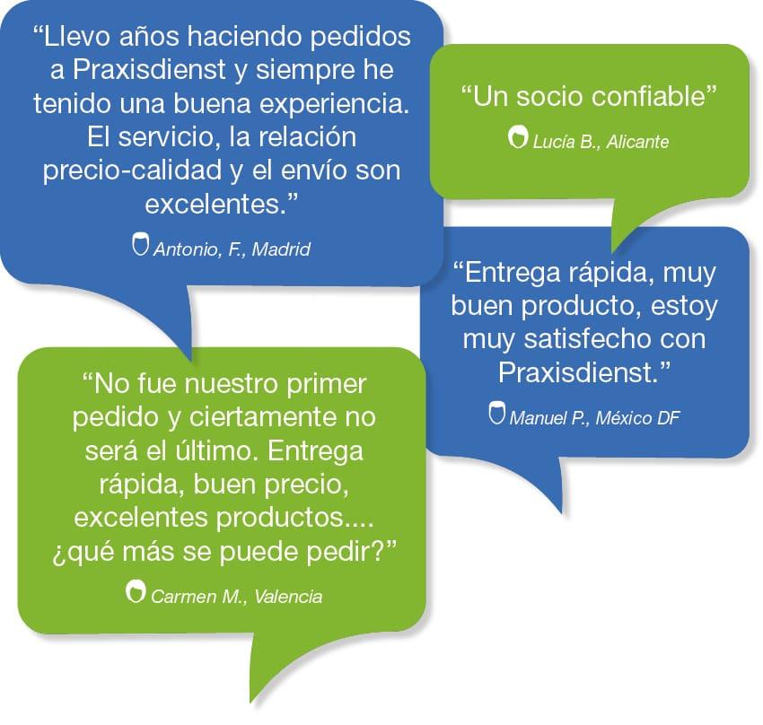 Praxisdienst - Opinión de clientes