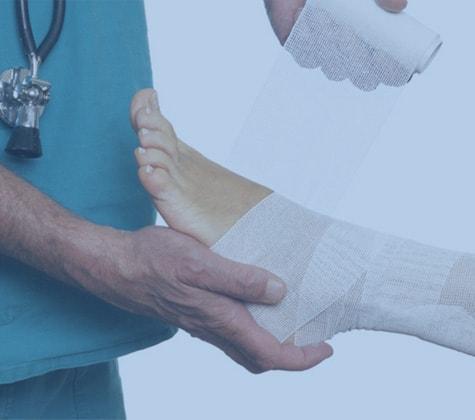 Gauze Bandages and Crepe Bandages