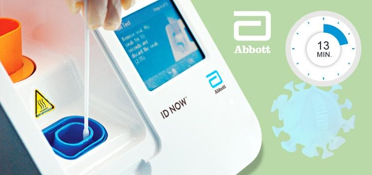 ID NOW™ PoC-Testgerät