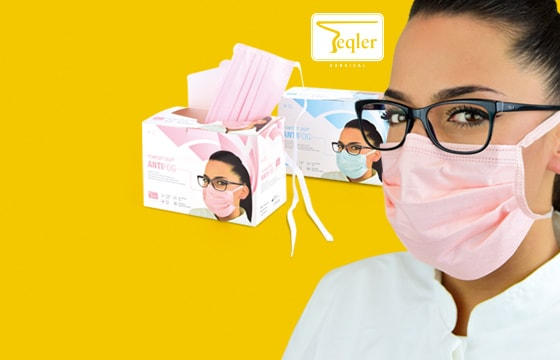Mundschutz für Brillenträger