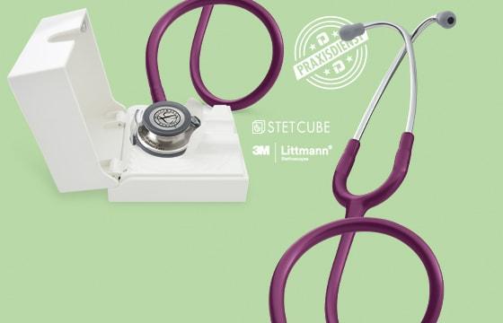 Estetoscopio Littmann + Stet Cube