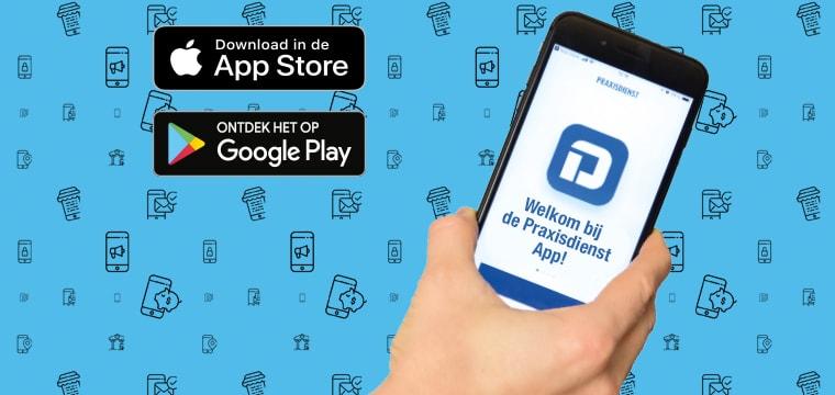 Ontdek onze bestel-app!