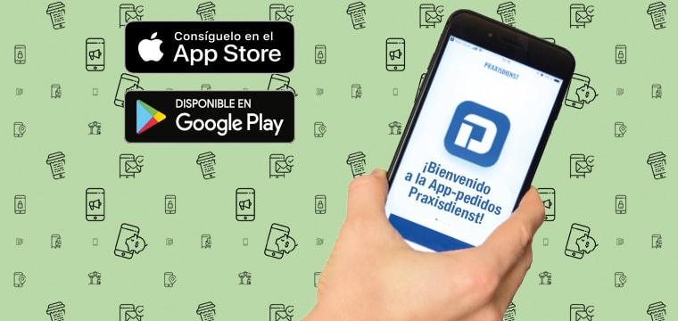 Descargue gratis la nueva App de Praxisdienst