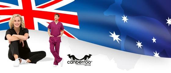 Vêtements médicaux Canberroo