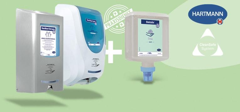 Dispenser automatico CleanSafe + regalo!