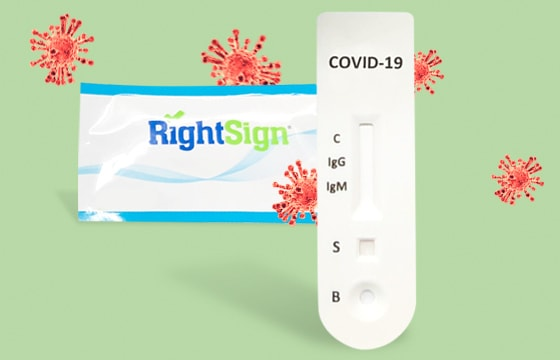 Test rápido serológico COVID-19 «Right Sign»