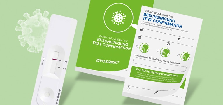Certificats de test SARS-CoV-2