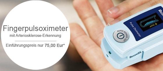 Pulsoximeter mit Arteriosklerose-Erkennung