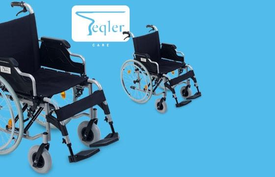 Wózek inwalidzki składany