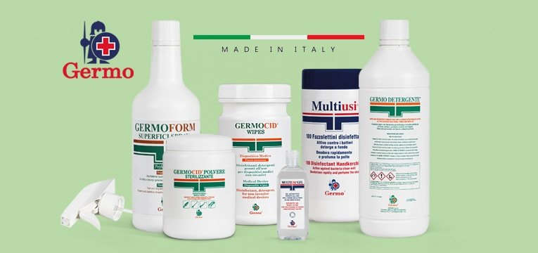 Disinfettanti Made in Italy Germo