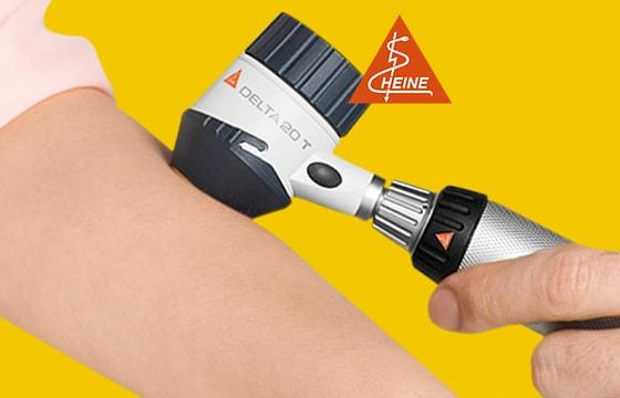 Dermatoskop Heine Delta 20T