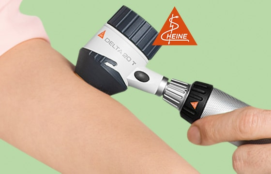 Dermatoscopio Heine Delta 20T