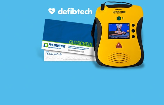 Defibtech AED Tauschaktion