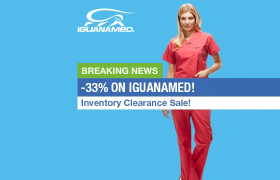 Save 33% on ALL IguanaMed Scrubs!