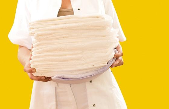 Serviettes d'incontinence