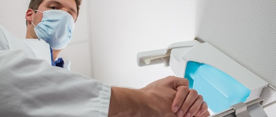 Desinfectantes de manos