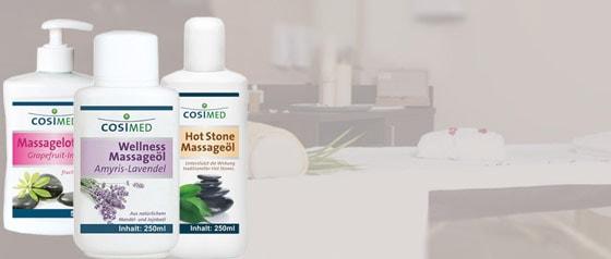 Produits de massage CosiMed