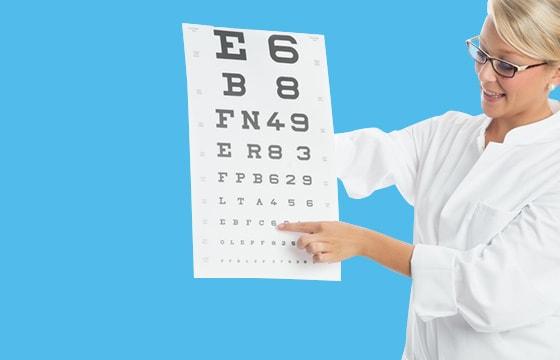 Eye Testing Supplies