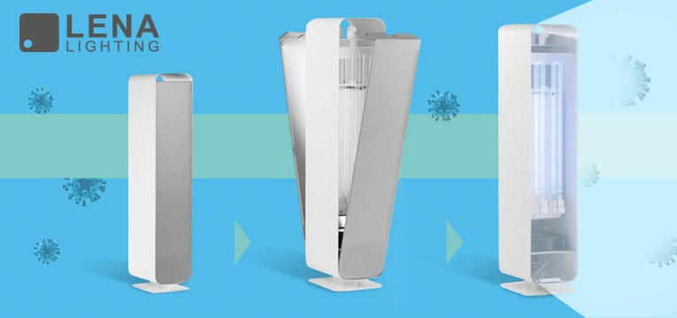 UV-C Sterilon Flow luchtdesinfectie