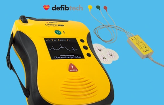 AED LifeLine Defibrillator Promotion