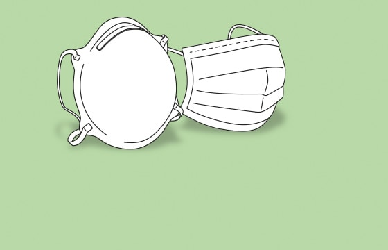 Mundschutz und FFP-Masken