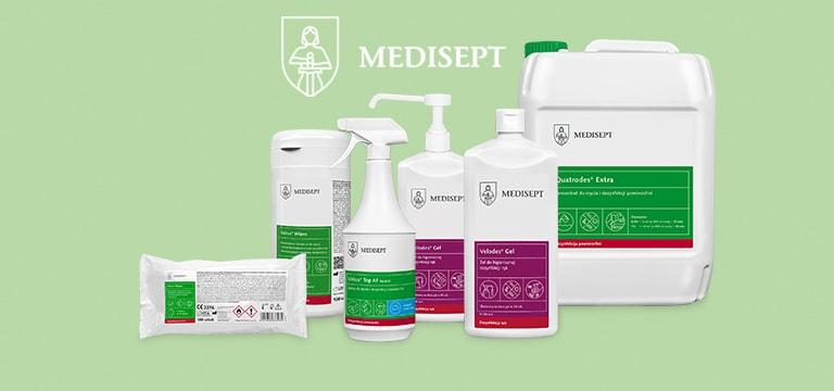 Produkty polskiej marki Medisept