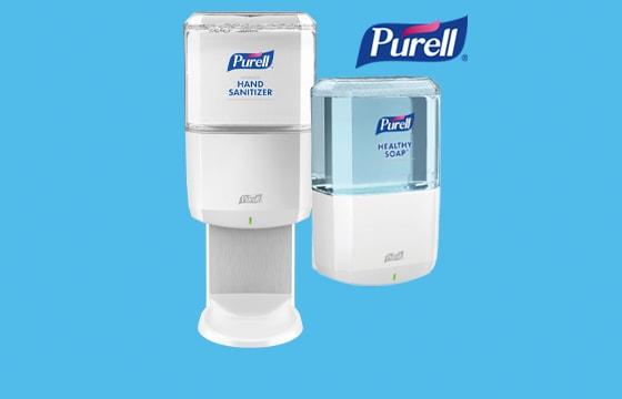 Purell ES8 disinfectant dispenser