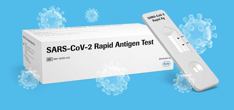 Test antígenos SARS-CoV-2 Roche