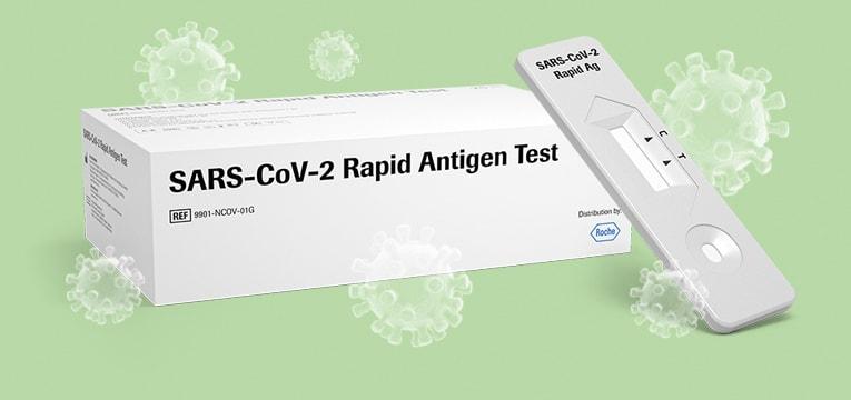Roche test na antygeny SARS-CoV-2