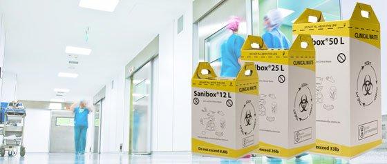 Emballages carton pour DASRI «Sanibox»