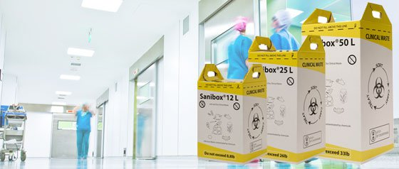 Clinical Waste Boxes