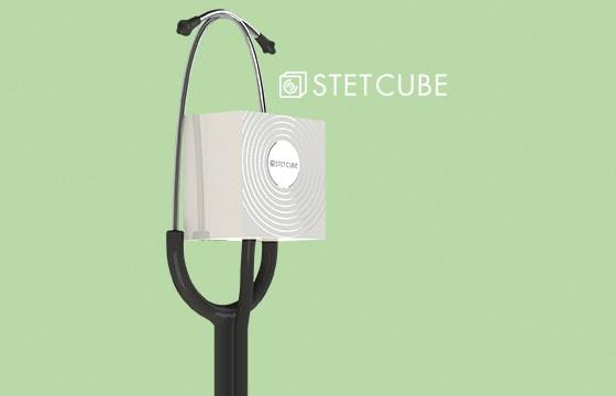 Stet Cube: Desinfección de estetoscopio