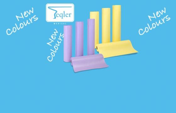 Liegenpapier in neuen Farben