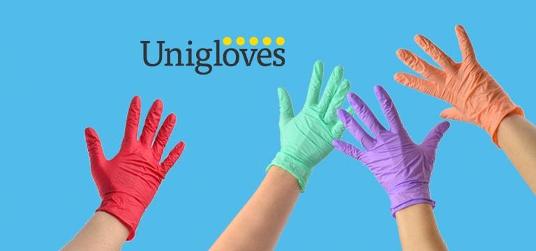 Gants d'examen Unigloves