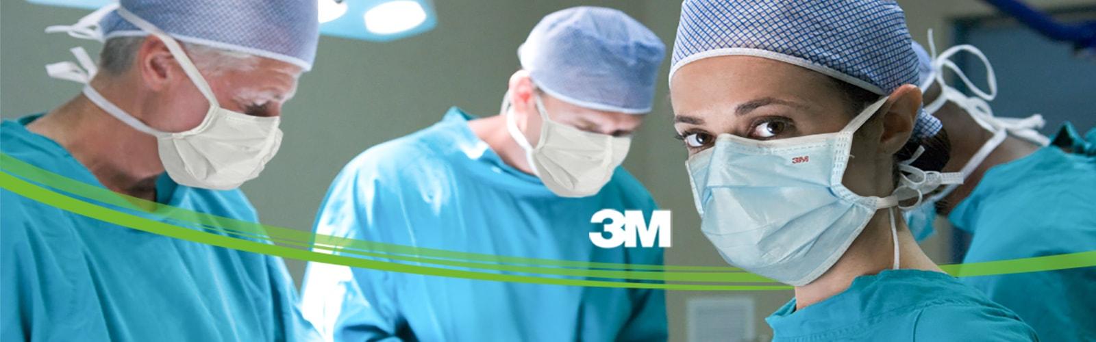 Maska chirurgiczna standardowa 3M