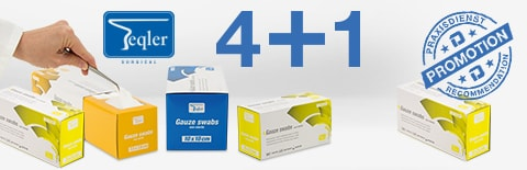 Gauze Swab Promotion from Teqler