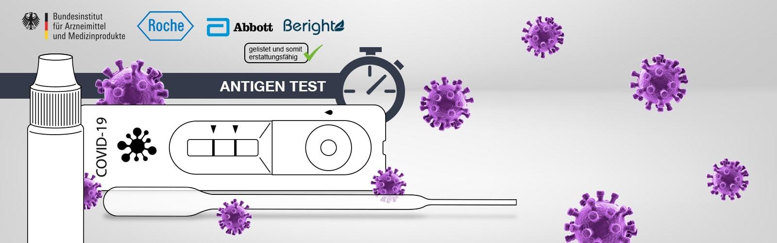 Corona-Antigen-Tests im Vergleich