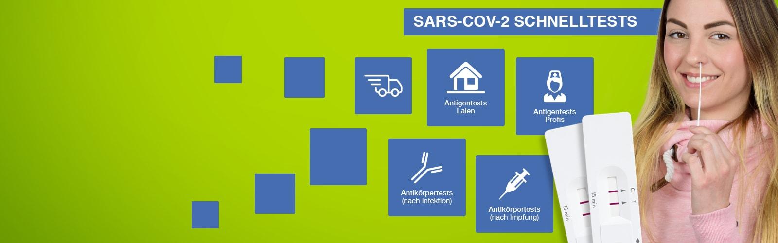 SARS-CoV-2 Schnelltests