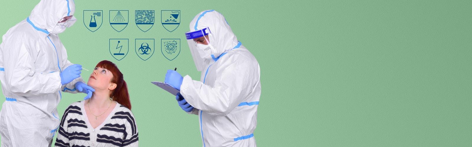 Infektionsschutz-Overall